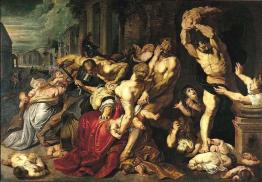 Sold for $76, 529, 058 is Rubens' Massacre of the Innocents