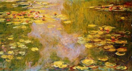 Water-Lily_Pond_1919_Claude_Monet_Metropolitan