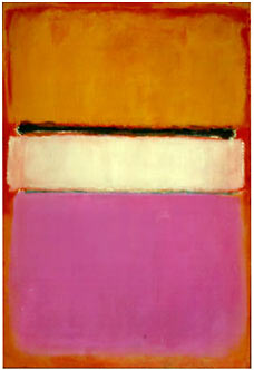 Sold for $72, 840, 000 is Rothko's White Centre